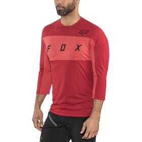 Fox Ranger Dri-Release 3/4 Sleeve Jersey Herren cardinal